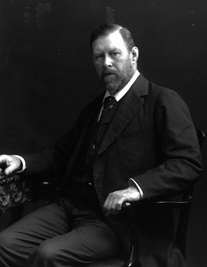 O autor Bram Stoker (Foto Hulton Archive/Getty Images)