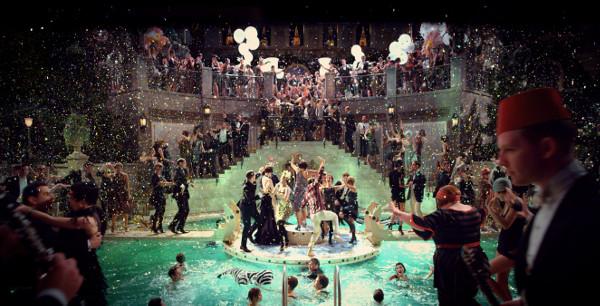 As luxuosas festas na mansão do Gatsby