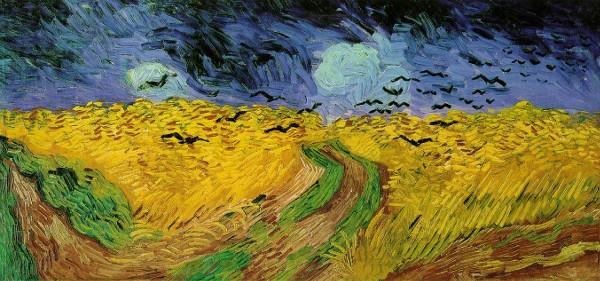 Campo de Trigo com Corvos (1890), de Vincent van Gogh