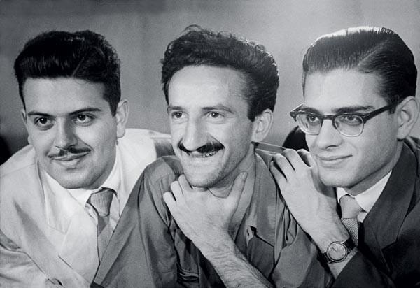 Augusto de Campos, Décio Pignatari e Haroldo de Campos, a Tríade Concretista.