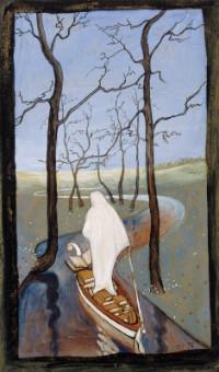 On the Stream of Life - Hugo Simberg